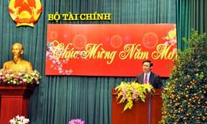 Bộ Tài chính tổ chức Họp mặt cán bộ hưu trí năm 2013