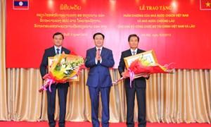 Thắt chặt quan hệ hợp tác, đoàn kết hữu nghị giữa Việt Nam và Lào