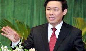 Bộ trưởng Vương Đình Huệ: Năm 2013, tiến hành đồng bộ các giải pháp hỗ trợ thị trường chứng khoán