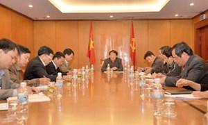 Thứ trưởng Thường trực Nguyễn Công nghiệp: Công tác Đảng – Đoàn thể cần phải được triển khai thiết thực, hiệu quả