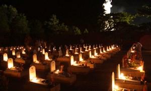 Nghĩa trang đường 9 - Ngào ngạt khói hương và nước mắt
