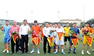 Khai mạc giải bóng đá mini thường niên Đoàn TNCS Hồ Chí Minh cơ quan Bộ Tài chính năm 2013