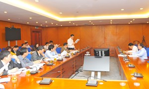 Bộ Tài chính chỉ đạo quyết liệt việc thực hiện nhiệm vụ tài chính ngân sách năm 2013