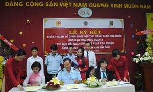 Bộ Tài chính làm việc TP. Hồ Chí Minh về công tác thu ngân sách