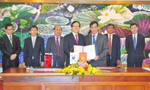 Ký kết Hiệp định vay vốn ODA của Chính phủ Hàn Quốc cho dự án xây dựng đường cao tốc Lộ Tẻ - Rạch Sỏi