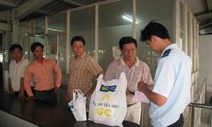Siết chặt quản lí kinh doanh tại khu thương mại - công nghiệp Mộc Bài