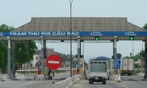 Hướng dẫn mức thu, sử dụng phí sử dụng đường bộ trạm thu phí Cầu Rác, Quốc lộ 1A, tỉnh Hà Tĩnh