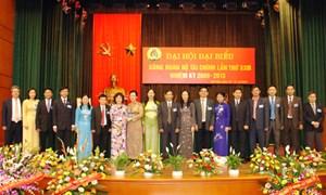 Tiến tới Đại hội Công đoàn Bộ Tài chính nhiệm kỳ 2013-2018