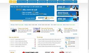 BVSC ra mắt website mới