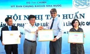 Hội nghị tập huấn các văn bản quy phạm pháp luật trong lĩnh vực quản lý quỹ
