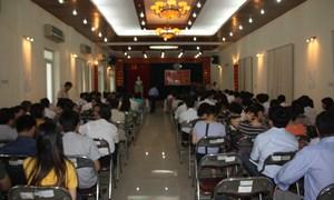 Đảng ủy Sở Tài chính tổ chức học tập và làm theo tấm gương đạo đức Hồ Chí Minh