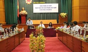 Thư chúc mừng của Bộ trưởng Bộ Tài chính nhân dịp ngày báo chí  21/6/2013