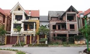 Biệt thự, nhà phố và đất nền khởi động