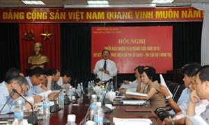 Đảng bộ Cơ quan Tổng cục Thuế sơ kết công tác 6 tháng đầu năm