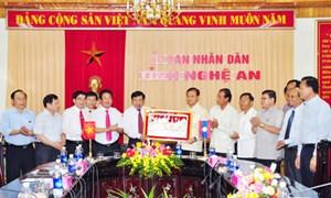 Thứ trưởng Bộ Tài chính CHDCND Lào thăm và làm việc với tỉnh Nghệ An