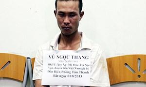 Bắt đối tượng vận chuyển hơn 600 triệu tiền giả vào Việt Nam