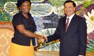 Bộ trưởng Bộ Tài chính tiếp Giám đốc quốc gia Ngân hàng Thế giới tại Việt Nam