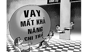 Vỡ nợ: Góc khuất đáng báo động ở làng quê