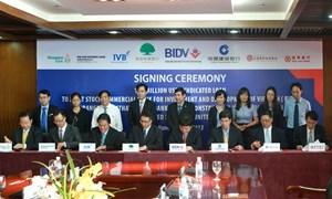 BIDV ký Hợp đồng vay hợp vốn 140 triệu USD với 07 ngân hàng nước ngoài
