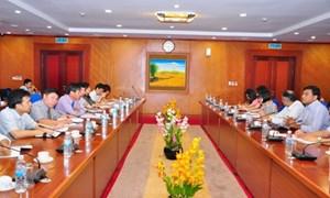 Thứ trưởng Trương Chí Trung làm việc với WB tại Việt Nam và Học viện Nghiên cứu Chính sách Quốc gia Nhật Bản