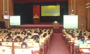 Chi cục Thuế TP. Việt Trì: Tập huấn chính sách thuế mới và kê khai thuế điện tử