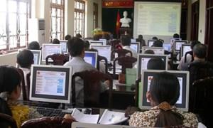 Thái Bình: Hơn 1.100 doanh nghiệp nộp tờ khai thuế qua mạng