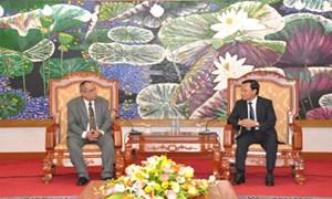 Thứ trưởng Trần Văn Hiếu tiếp đoàn đại biểu Bộ Tài chính và Giá cả Cuba