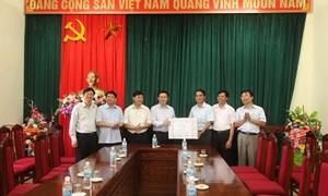Trưởng Ban Kinh tế Trung ương Vương Đình Huệ công tác tại Sơn La