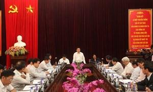 """Trưởng Ban Kinh tế Trung ương  khảo sát """"Tam nông""""  tại tỉnh Điện Biên"""