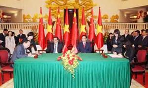 Việt Nam ký kết các văn kiện hợp tác tài chính với Trung Quốc