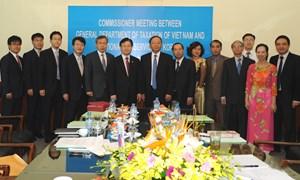 Tổng cục trưởng Tổng cục Thuế Bùi Văn Nam tiếp và làm việc với Tổng cục trưởng Tổng cục Thuế Hàn Quốc