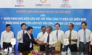 LienVietPostBank thu hộ tiền điện cho Điện lực miền Nam