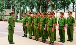 Quy định về chế độ, chính sách đối với thân nhân chiến sĩ đang phục vụ trong Công an nhân dân