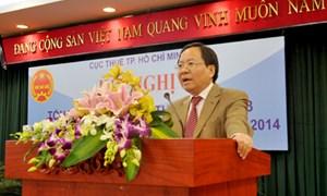 Năm 2014: Cục Thuế TP. Hồ Chí Minh phấn đấu vượt dự toán thu ngân sách 8%