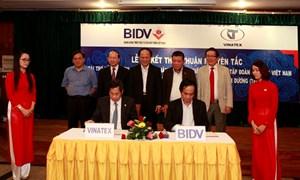 BIDV và Vinatex ký kết thỏa thuận tài trợ vốn và dịch vụ thực hiện đầu tư mở rộng, đổi mới công nghệ