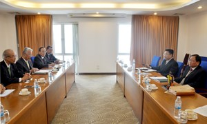 Thứ trưởng Đỗ Hoàng Anh Tuấn làm việc với Đoàn Đại biểu Quốc hội TP. Namuzu, Nhật Bản