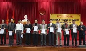 Chi hội Luật gia Cục thuế Hà Tĩnh nhận bằng khen của Trung ương Hội Luật gia Việt Nam
