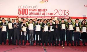Bảo Việt Nhân thọ vinh dự nhận giải thưởng Top Doanh nghiệp lớn nhất Việt Nam 2013