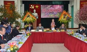 Phó chủ tịch Quốc hội Nguyễn Thị Kim Ngân thăm và làm việc với Tổng cục Thuế