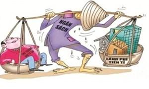 Lãng phí có nghiêm trọng hơn tham nhũng?