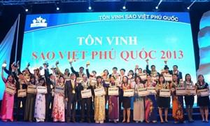 Bảo Việt Nhân thọ tôn vinh tư vấn viên xuất sắc năm 2013