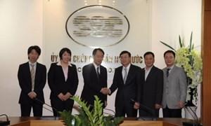 Đẩy mạnh quan hệ hợp tác giữa Ủy ban Chứng khoán Nhà nước với Cơ quan Dịch vụ Tài chính Nhật Bản