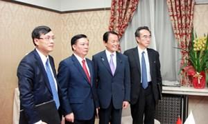 Một số hình ảnh của Bộ trưởng Bộ Tài chính Đinh Tiến Dũng tại chuyến công tác Nhật Bản