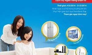 Giao dịch trực tuyến trúng thưởng cùng VietinBank iPay