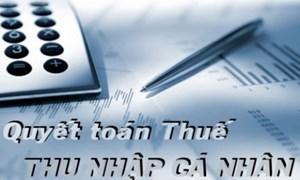 Hướng dẫn quyết toán thuế Thu nhập cá nhân theo Thông tư số 111/2013/TT-BTC