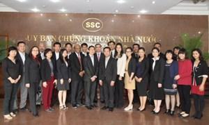 Chương trình đào tạo nâng cao năng lực cho cán bộ Ủy ban Chứng khoán các nước Lào, Campuchia và Việt Nam