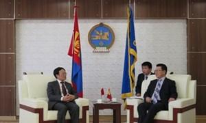Thứ trưởng Nguyễn Công Nghiệp thăm và làm việc tại Hàn Quốc và Mông Cổ