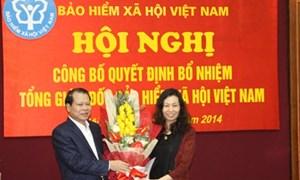 Công bố Quyết định bổ nhiệm Tổng Giám đốc Bảo hiểm Xã hội Việt Nam