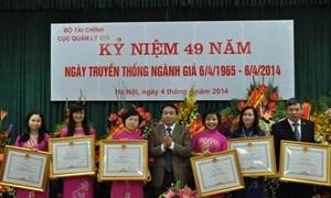 Kỷ niệm 49 năm ngày truyền thống ngành Giá