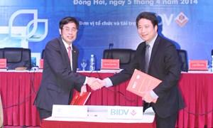 BIDV đồng tổ chức Hội nghị Xúc tiến đầu tư vào tỉnh Quảng Bình lần thứ nhất